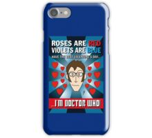 DR WHO VALENTINES 7 iPhone Case/Skin