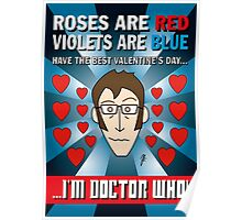 DR WHO VALENTINES 7 Poster