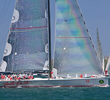 supermaxi yacht wild oats x1  by Martin Berry Photography