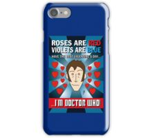 DR WHO VALENTINES 8 iPhone Case/Skin