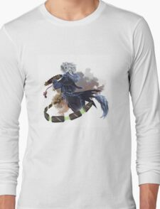 Fan, Sword and Courage Long Sleeve T-Shirt