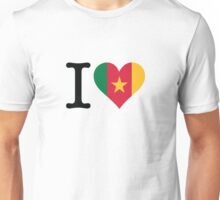 I love Cameroon Unisex T-Shirt