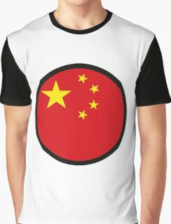 In a sign of China Graphic T-Shirt