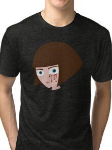 Fran Bow - Blood Tri-blend T-Shirt