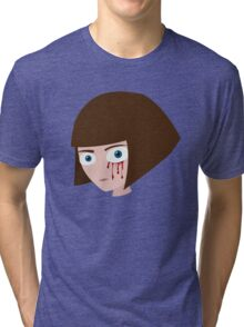 Fran Bow - Blood Tri-blend T-Shirt