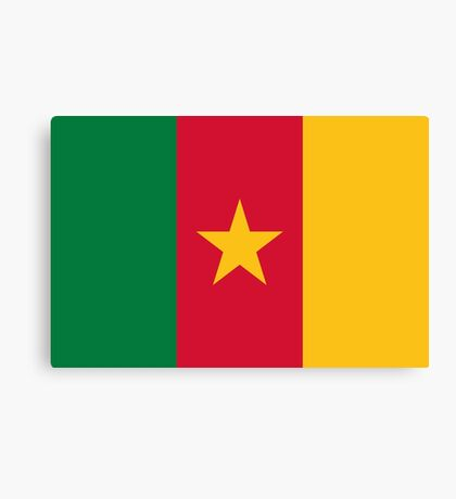 National Flag of Cameroon Canvas Print