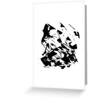 Byn abstract serie n°10 Greeting Card