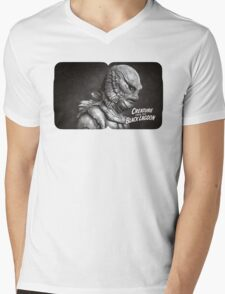 Creature of the Black Lagoon Mens V-Neck T-Shirt