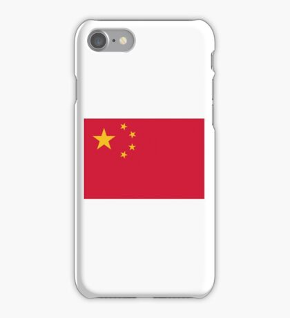 National Flag of China iPhone Case/Skin