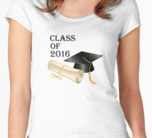 Class of 2016 Women's Fitted Scoop T-Shirt