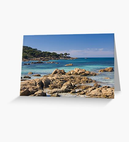bunker bay beach western australia Greeting Card