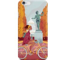 Jardin du Luxembourg iPhone Case/Skin