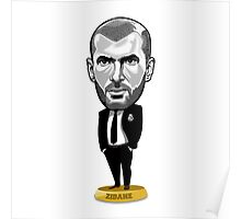 Manager Zidane Poster