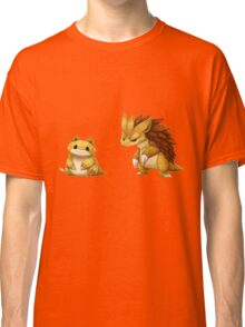 Pokemon Sandshrew Evolution Classic T-Shirt
