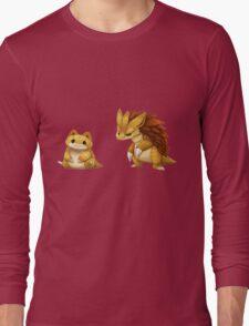 Pokemon Sandshrew Evolution Long Sleeve T-Shirt