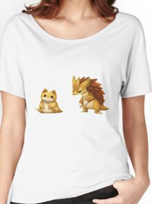 Pokemon Sandshrew Evolution Women's Relaxed Fit T-Shirt