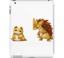 Pokemon Sandshrew Evolution iPad Case/Skin