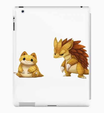 Pokemon Sandshrew Evolution iPad Case/Skin