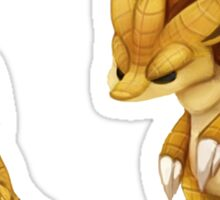 Pokemon Sandshrew Evolution Sticker