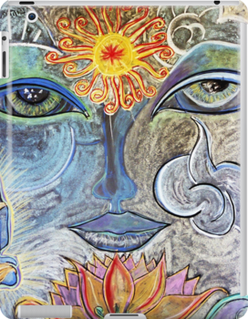 Chalk Meditation #4 (August 2004) by Infinite Path  Creations