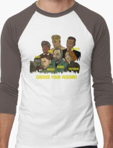 Choose your Russian  Men's Baseball ¾ T-Shirt