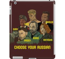 Choose your Russian  iPad Case/Skin