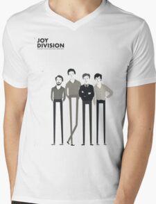 Joy Division Band Mens V-Neck T-Shirt