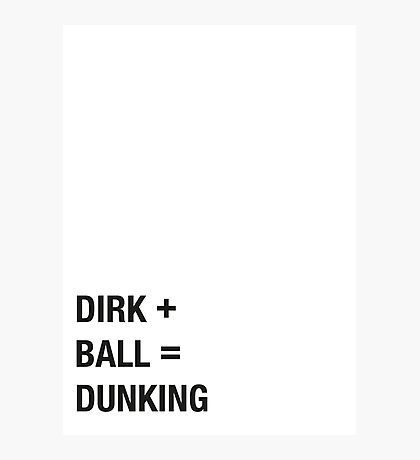 Dirk Photographic Print