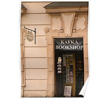 Kafka Bookshop - Prague Poster