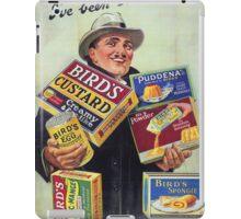 Vintage poster - Bird's Custard iPad Case/Skin