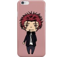 Mikoto Suoh-K project chibi iPhone Case/Skin
