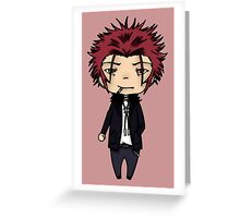 Mikoto Suoh - K project  Greeting Card