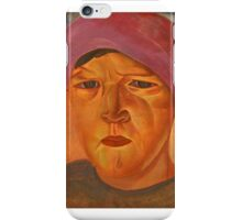 GRIGORIEV, BORIS (-)  Russian Peasant Woman iPhone Case/Skin