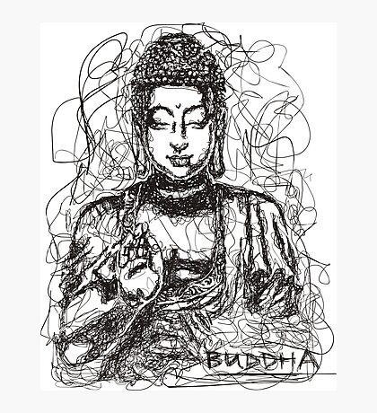 Conceptual Buddha Photographic Print