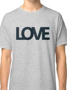 Love bold - version 2 - dark blue / navy Classic T-Shirt