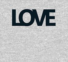 Love bold - version 2 - dark blue / navy Womens Fitted T-Shirt
