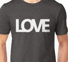 Love bold - version 3 - white Unisex T-Shirt