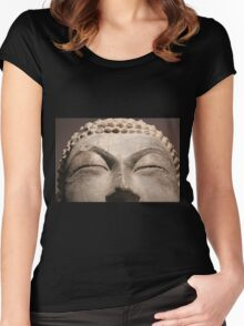 Buddha 6 Women's Fitted Scoop T-Shirt