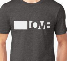 Love long - version 2 - white Unisex T-Shirt