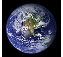 Blue Marble Photographic Print