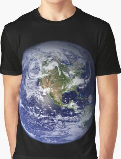 Blue Marble Graphic T-Shirt