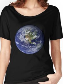 Blue Marble Women's Relaxed Fit T-Shirt