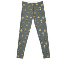 Hallucinogenic mushrooms Leggings