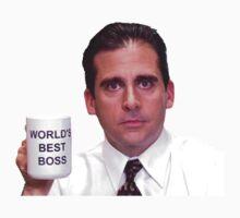 Michael Scott - World's Best Boss Kids Clothes