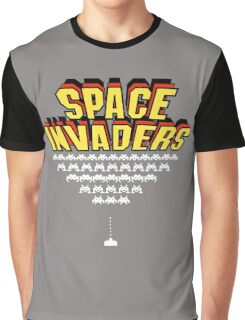 Space Invaders Graphic T-Shirt