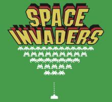 Space Invaders Kids Tee