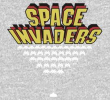 Space Invaders One Piece - Long Sleeve