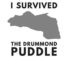 I Survived The Drummond Puddle by wordsbydan