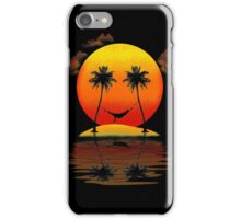 Sweet Smile of Sunset iPhone Case/Skin