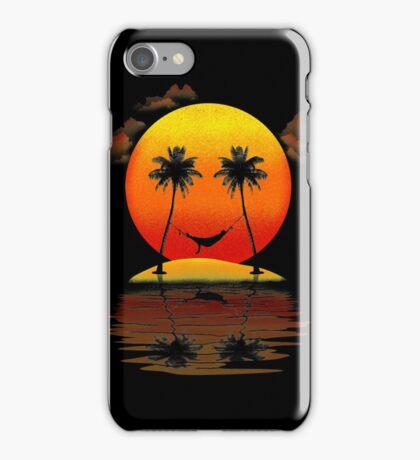 Sweet Smile of Sunset iPhone Case/Skin